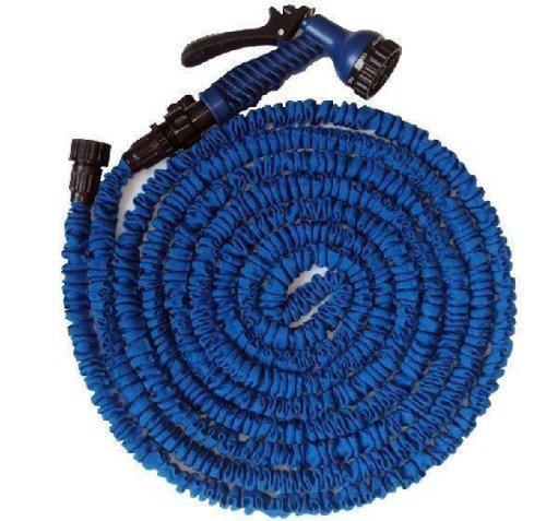 Kompaktiškai suvyniojama 7,5 m ilgio laistymo žarna MAGIC HOSE, išsitempianti net iki 3 kartų (galėsite pasirinkti ir 15, 22 arba 37 m ilgio žarną)