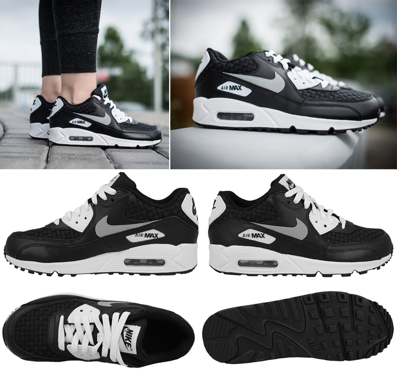 detailing d0885 d19ea ... official originals moteriki sportiniai batai nike air max 90 premium  mesh gs galsite rinktis i 7