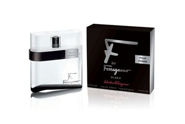 Salvatore Ferragamo F by Ferragamo Black EDT 100ml Man