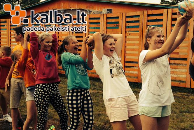 Anglu kalbos stovykla vaikams