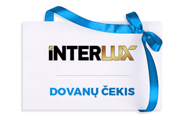 INTERLUX TRAVEL dovanų čekis